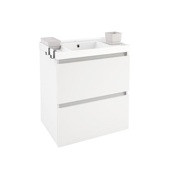 cosmic b box waschbecken mit unterschrank mit 2 schubladen. Black Bedroom Furniture Sets. Home Design Ideas