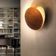 Catellani & Smith Lederam W LED Wandleuchten gold