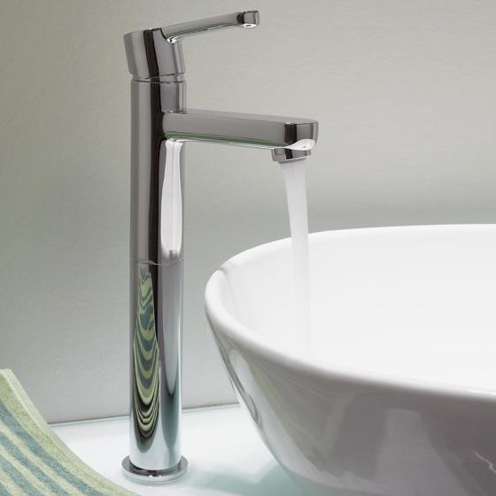 damixa willow waschtischarmatur mit hohem auslauf. Black Bedroom Furniture Sets. Home Design Ideas