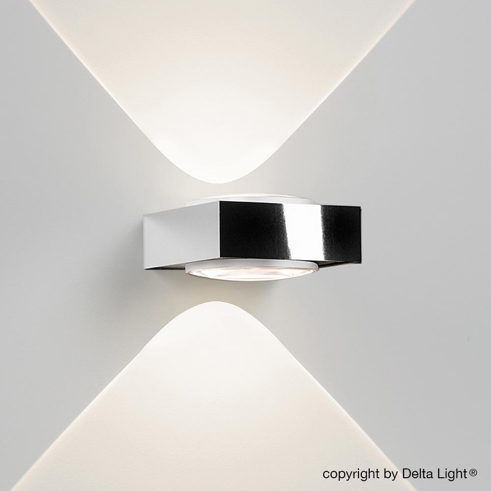 delta light vision led up down wandleuchte 278 25 22 w. Black Bedroom Furniture Sets. Home Design Ideas