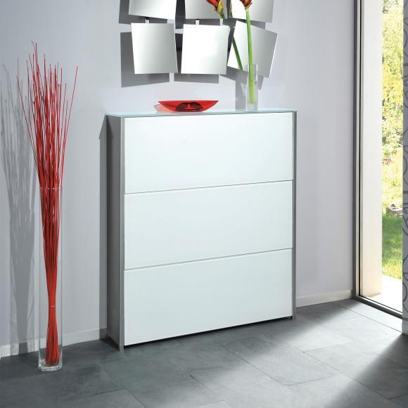 schuhschrank glas preisvergleiche erfahrungsberichte. Black Bedroom Furniture Sets. Home Design Ideas