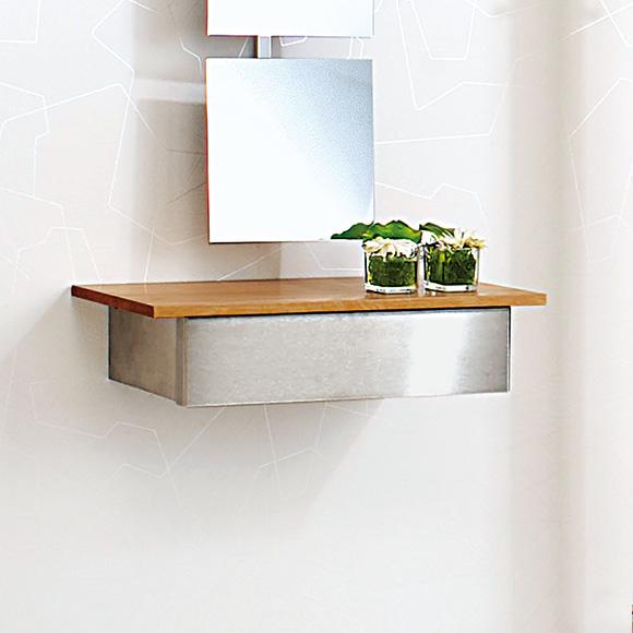 wandkonsole mit schublade sonstige preisvergleiche. Black Bedroom Furniture Sets. Home Design Ideas