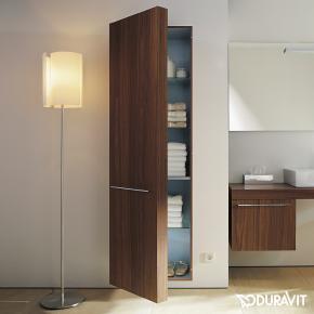 duravit fogo hochschrank amerikanischer nu baum echtholzfurnier anschlag links fo9546l1313. Black Bedroom Furniture Sets. Home Design Ideas