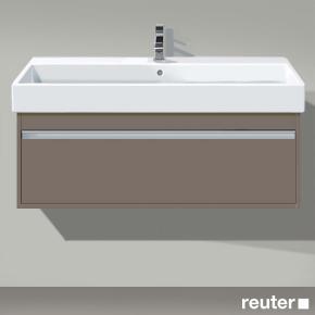 duravit ketho waschtischunterbau mit 1 auszug front basalt matt korpus basalt matt. Black Bedroom Furniture Sets. Home Design Ideas