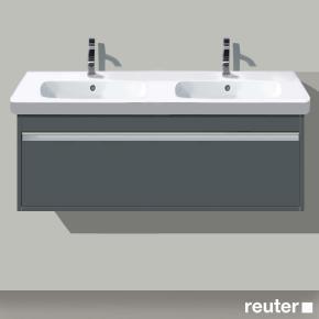 duravit ketho waschtischunterbau wandh ngend graphit matt. Black Bedroom Furniture Sets. Home Design Ideas