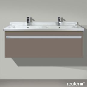 duravit ketho waschtischunterbau f r doppelwaschtisch basalt matt kt666604343 reuter onlineshop. Black Bedroom Furniture Sets. Home Design Ideas