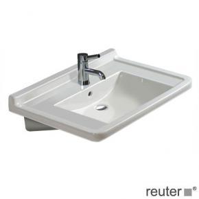 duravit starck 3 waschtisch vital barrierefrei wei mit 1. Black Bedroom Furniture Sets. Home Design Ideas