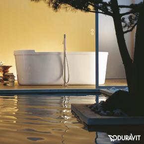 duravit starck oval badewanne freistehend. Black Bedroom Furniture Sets. Home Design Ideas