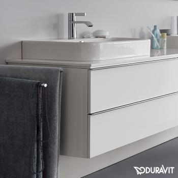 duravit happy d 2 waschtischunterbau f r konsolen t 54 8 cm wei h2630102222 reuter onlineshop. Black Bedroom Furniture Sets. Home Design Ideas