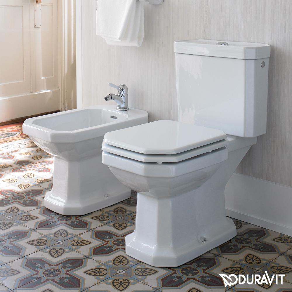 duravit 1930 stand tiefsp l wc f r kombination l 66 5 b 35 5 cm wei mit wondergliss mit. Black Bedroom Furniture Sets. Home Design Ideas
