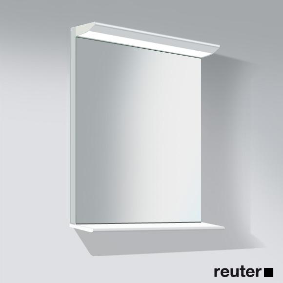 duravit darling new spiegel mit beleuchtung und holzablage holzablage. Black Bedroom Furniture Sets. Home Design Ideas