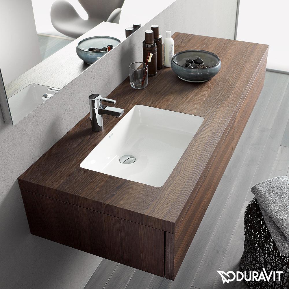 duravit delos konsole mit schubkasten f r einbau waschtisch nussbaum geb rstet dl6991l6969. Black Bedroom Furniture Sets. Home Design Ideas