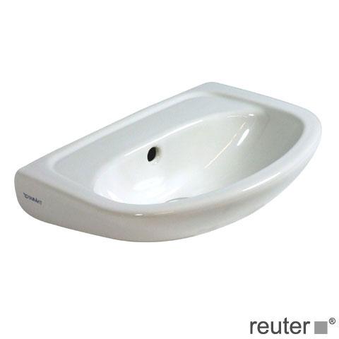 duravit duraplus handwaschbecken compact wei ohne hahnloch ohne berlauf 0797450010 reuter. Black Bedroom Furniture Sets. Home Design Ideas