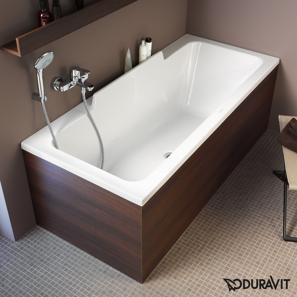 duravit durastyle rechteck badewanne r ckenschr ge rechts 700293000000000 reuter onlineshop. Black Bedroom Furniture Sets. Home Design Ideas