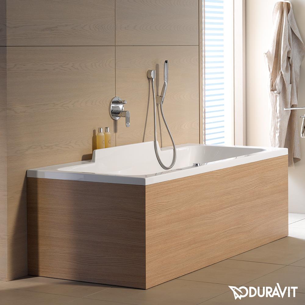 duravit durastyle rechteck badewanne mit zwei. Black Bedroom Furniture Sets. Home Design Ideas
