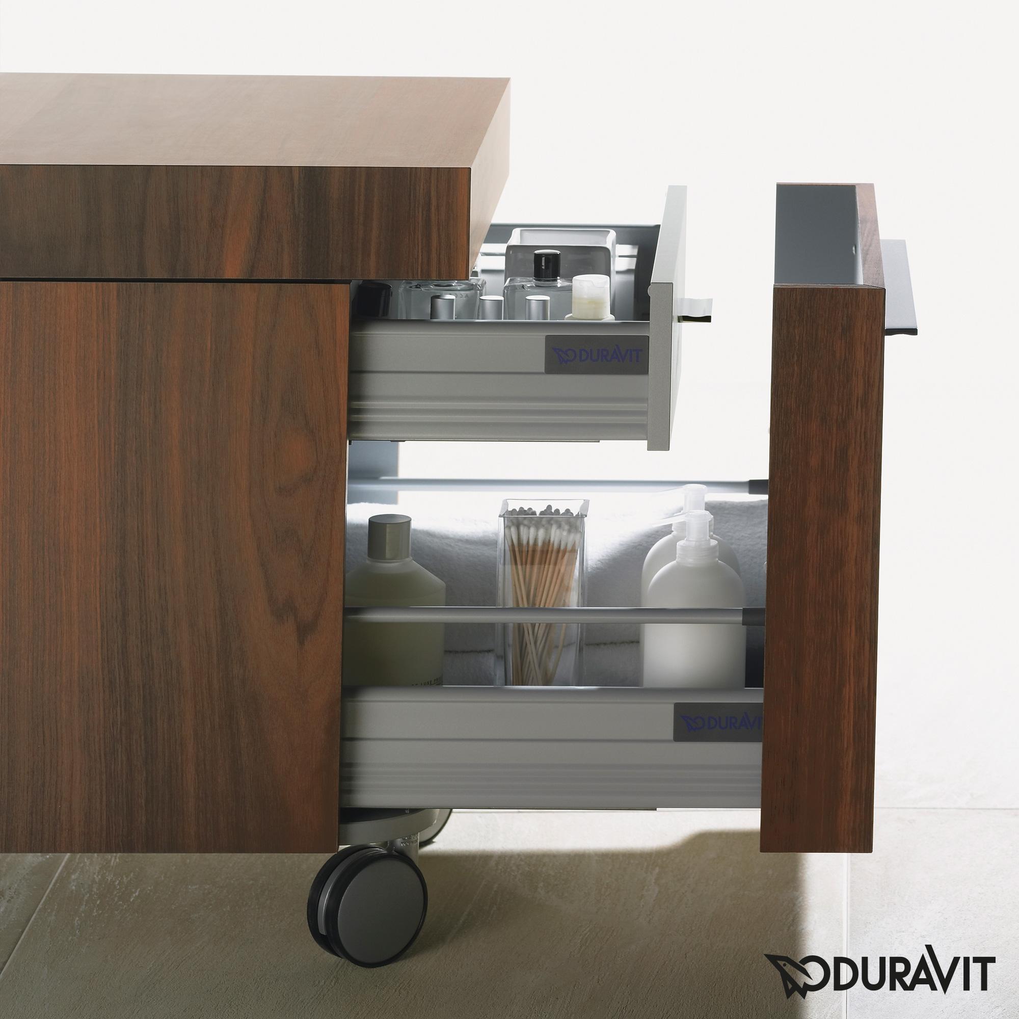 duravit fogo rollcontainer amerikanischer nu baum. Black Bedroom Furniture Sets. Home Design Ideas