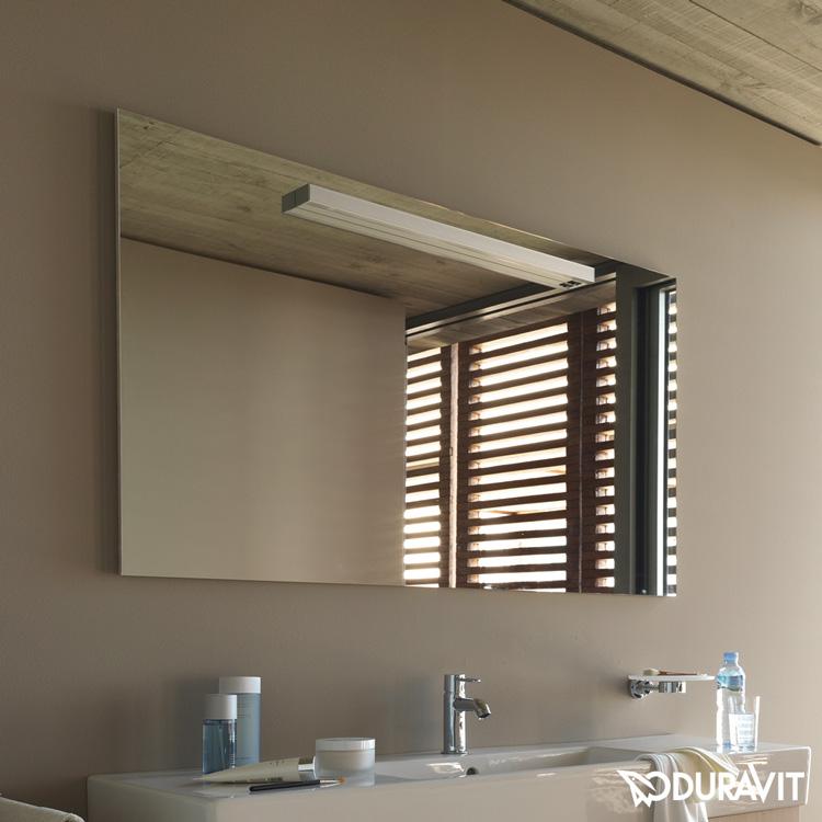 fogo spiegel mit beleuchtung amerikanischer nussbaum echtholzfurnier. Black Bedroom Furniture Sets. Home Design Ideas