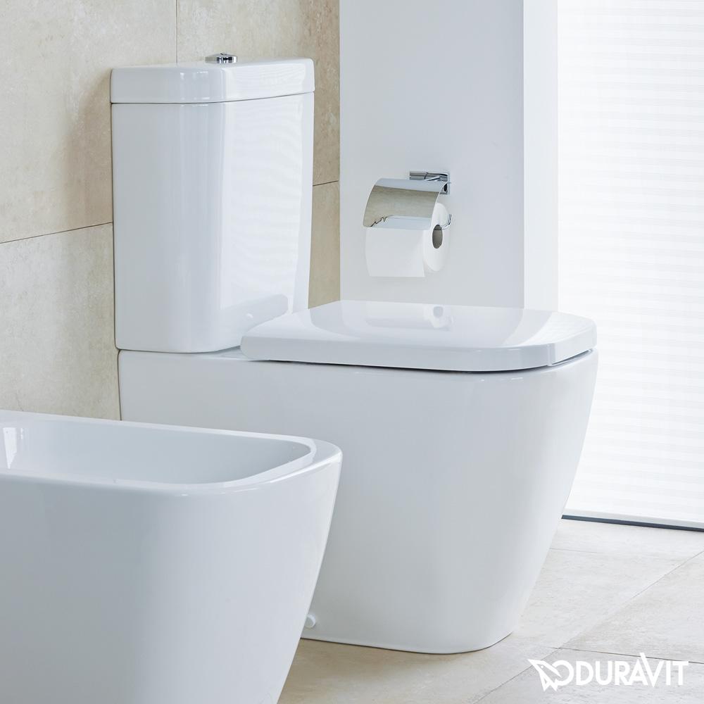 duravit happy d 2 stand tiefsp l wc kombination b 36 5 l 63 cm wei mit wondergliss. Black Bedroom Furniture Sets. Home Design Ideas