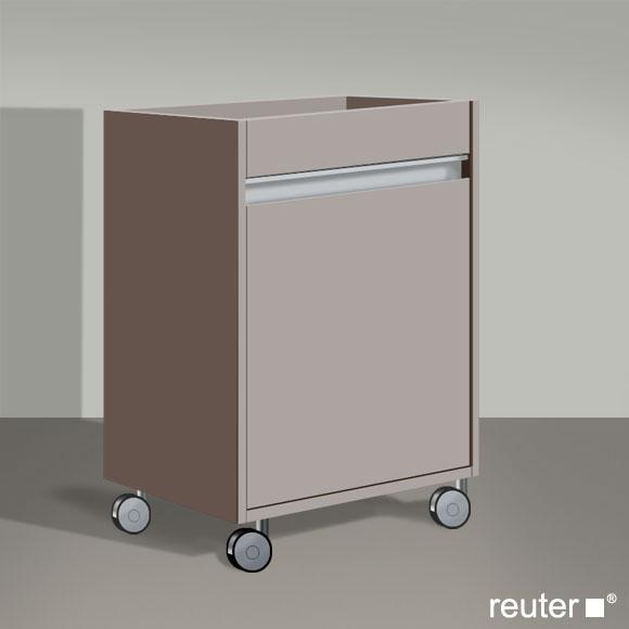 duravit ketho rollcontainer basalt matt kt2530l4343 reuter onlineshop. Black Bedroom Furniture Sets. Home Design Ideas