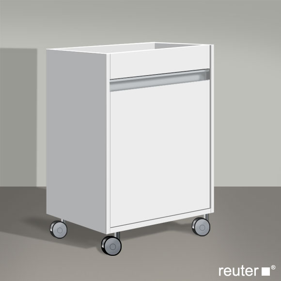duravit ketho rollcontainer weiss matt kt2530l1818 reuter onlineshop. Black Bedroom Furniture Sets. Home Design Ideas