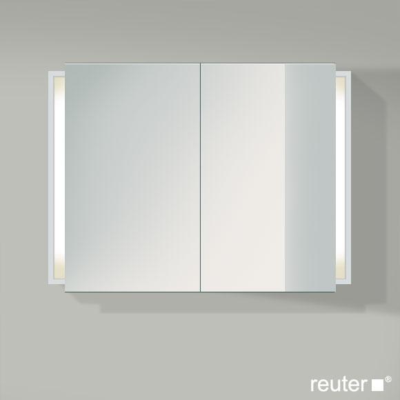 duravit ketho spiegelschrank mit beleuchtung weiss matt kt753201818 reuter onlineshop. Black Bedroom Furniture Sets. Home Design Ideas