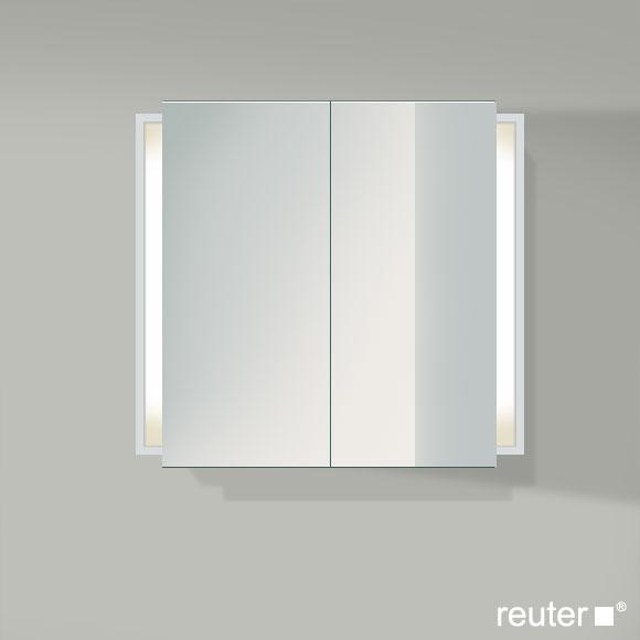 duravit ketho spiegelschrank mit beleuchtung weiss matt. Black Bedroom Furniture Sets. Home Design Ideas