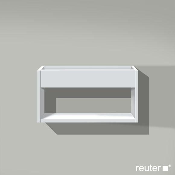duravit ketho wandregal weiss matt kt253701818 reuter onlineshop. Black Bedroom Furniture Sets. Home Design Ideas