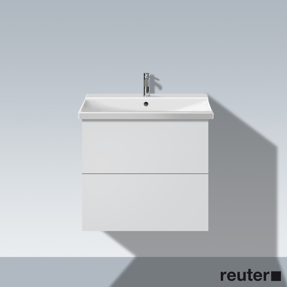 duravit l cube waschtischunterbau wandh ngend wei matt lc624401818 reuter onlineshop. Black Bedroom Furniture Sets. Home Design Ideas