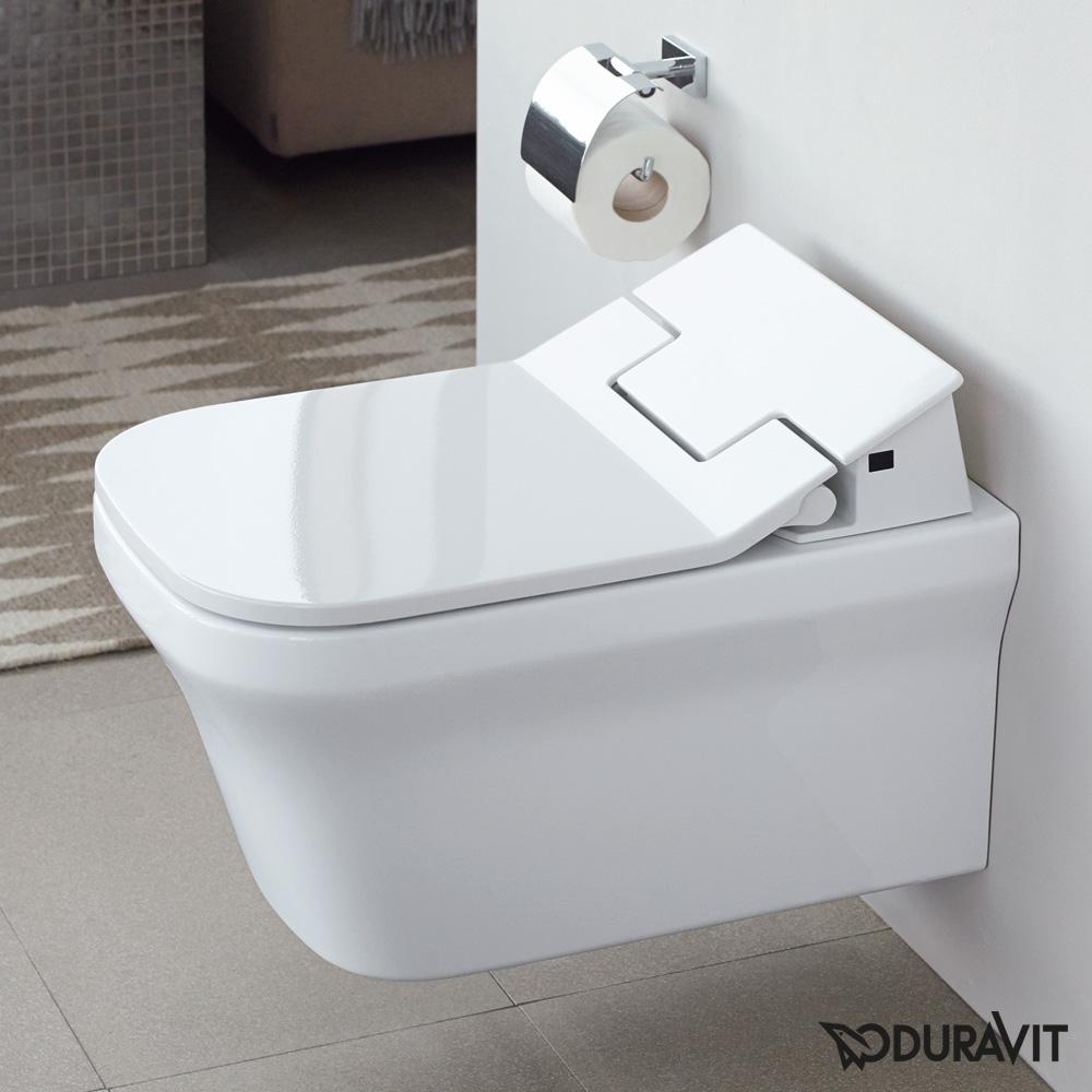 duravit p3 comforts wand tiefsp l wc f r sensowash rimless wei mit hygieneglaze 2561592000. Black Bedroom Furniture Sets. Home Design Ideas