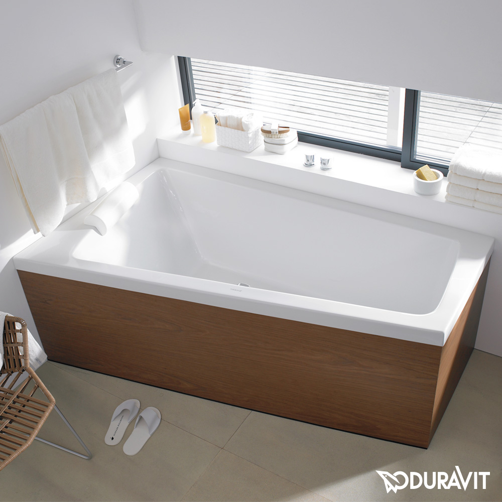 duravit paiova badewanne ecke links gestell f r. Black Bedroom Furniture Sets. Home Design Ideas