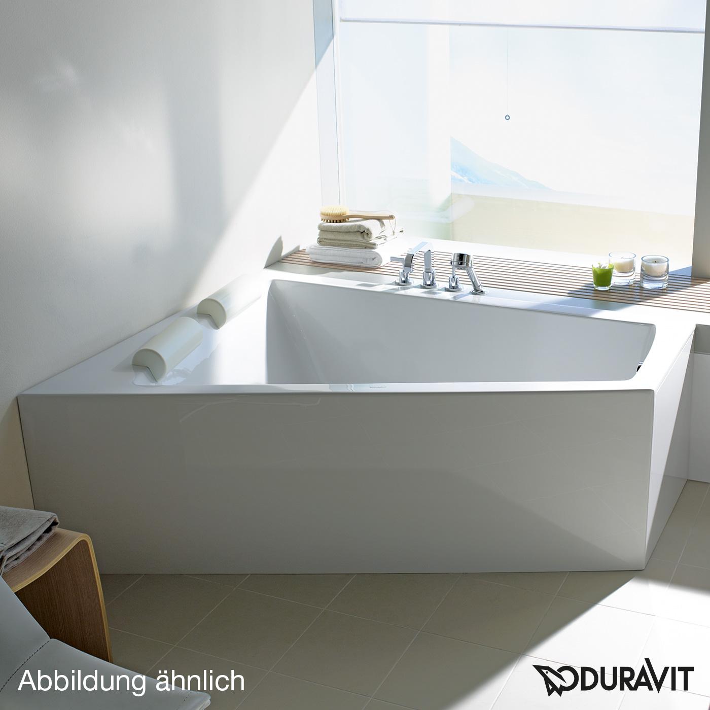 duravit paiova eck badewanne f r ecke links 700264000000000 reuter onlineshop. Black Bedroom Furniture Sets. Home Design Ideas