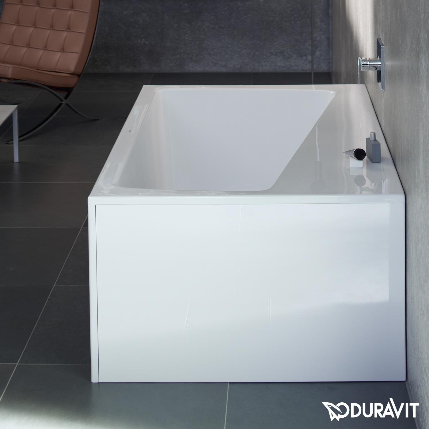 duravit paiova monolith eck badewanne f r ecke links. Black Bedroom Furniture Sets. Home Design Ideas