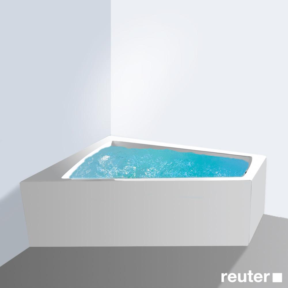 duravit paiova whirlpool ecke links einbauversion wei mit combi system l 710212005001000. Black Bedroom Furniture Sets. Home Design Ideas