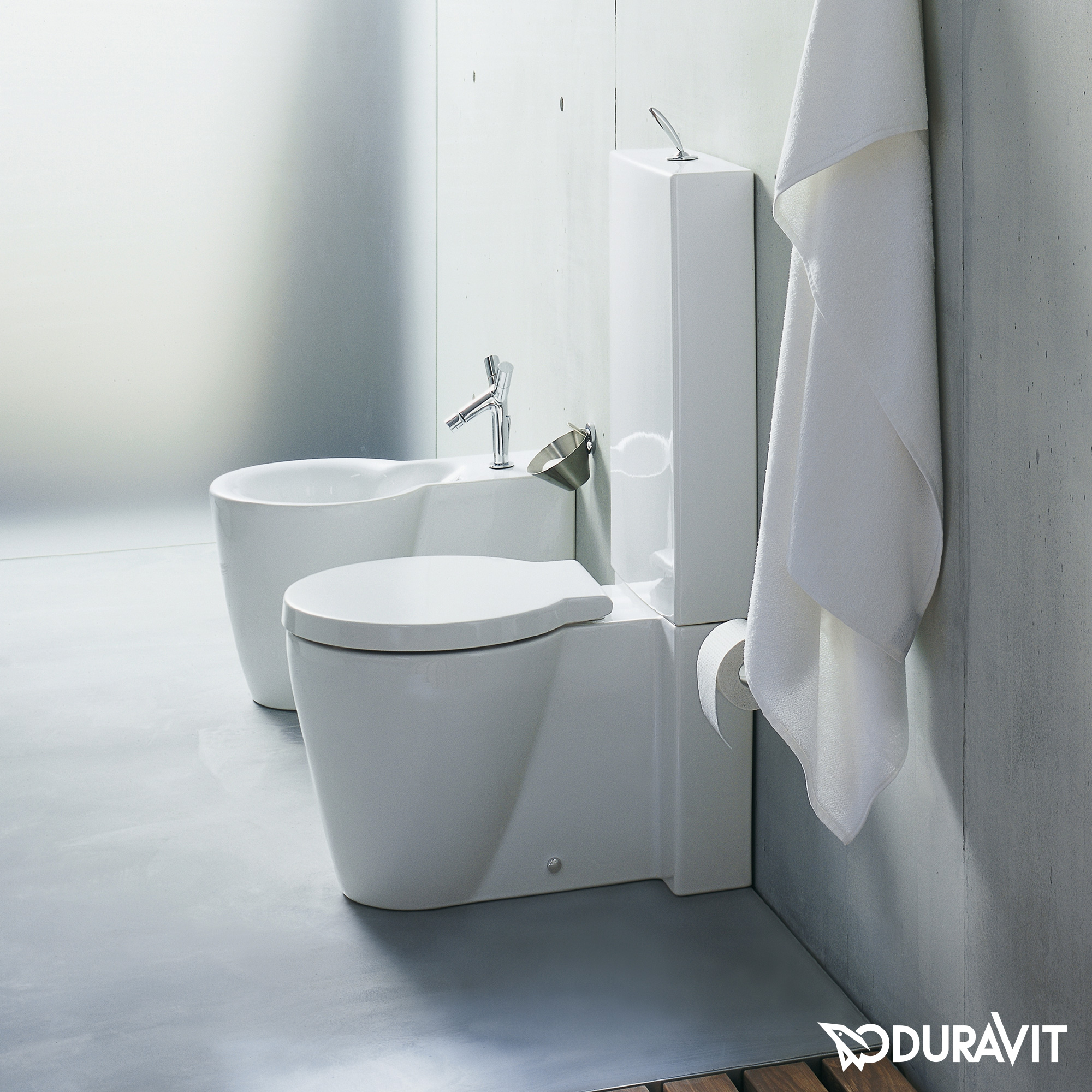 duravit starck 1 stand tiefsp l wc f r kombination l 64 b 41 5 cm wei wondergliss. Black Bedroom Furniture Sets. Home Design Ideas