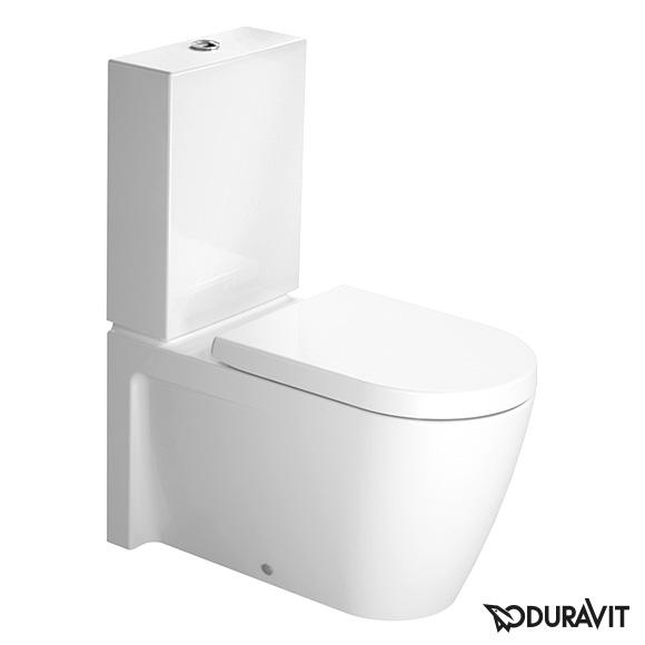 duravit starck 2 stand tiefsp l wc kombination l 72 b 37. Black Bedroom Furniture Sets. Home Design Ideas