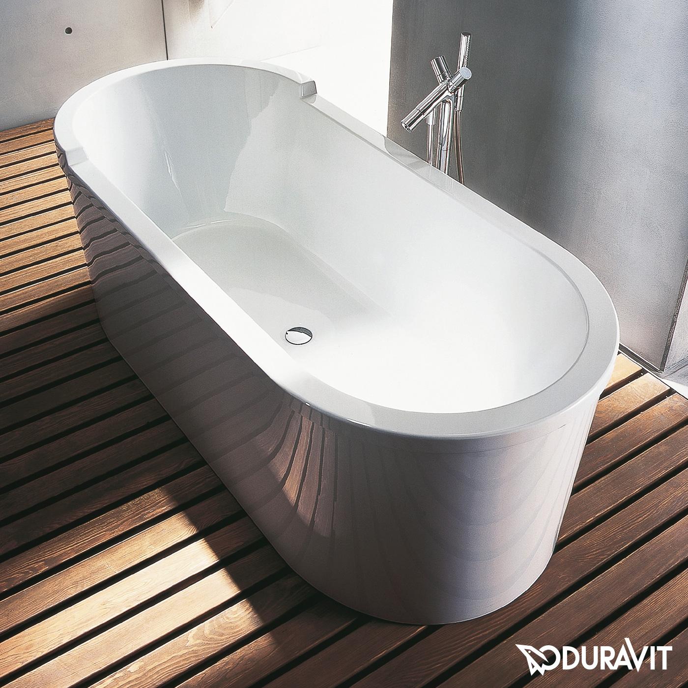duravit starck oval badewanne freistehend 700010000000000 reuter onlineshop. Black Bedroom Furniture Sets. Home Design Ideas