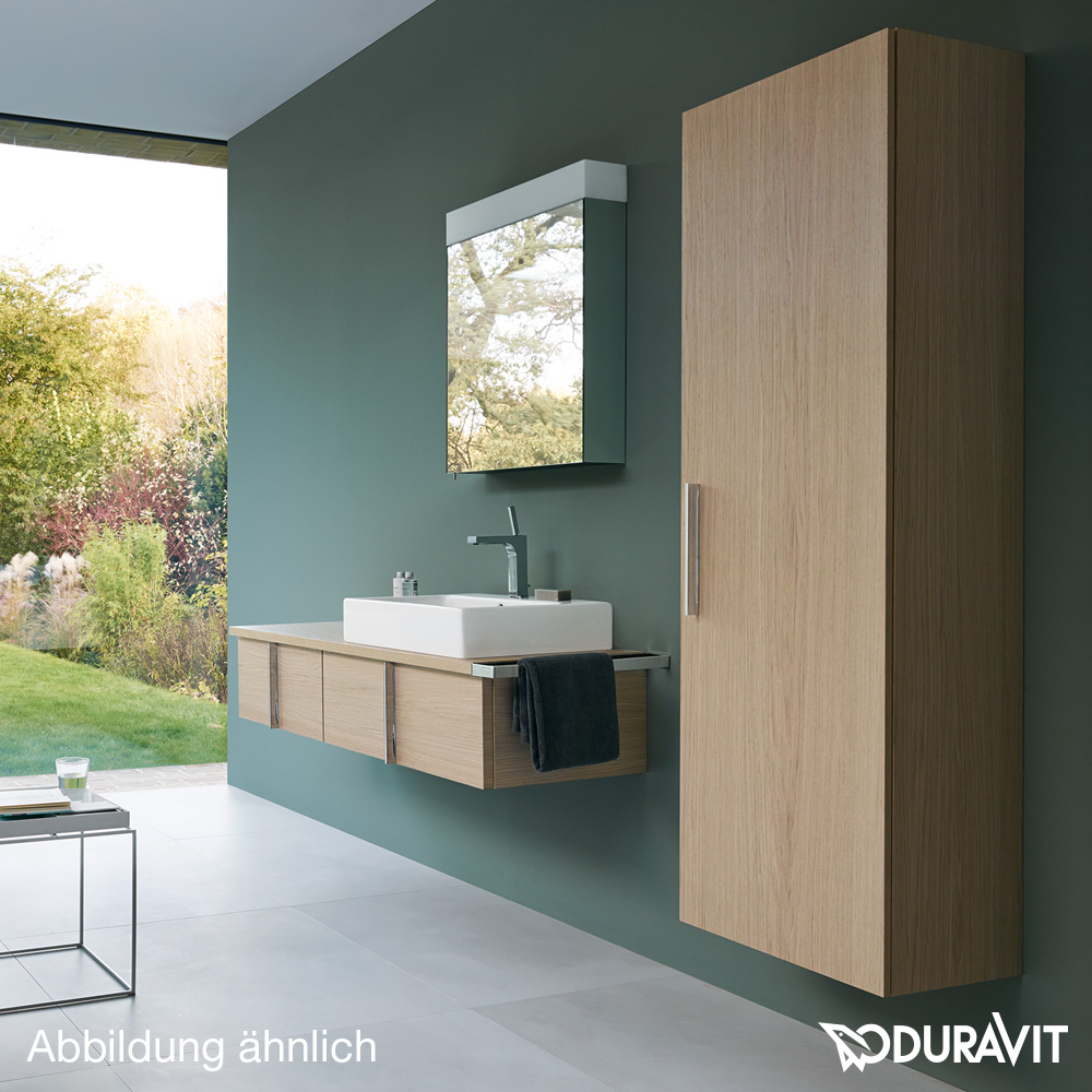duravit vero hochschrank wei hochglanz ve1166r2222 reuter onlineshop. Black Bedroom Furniture Sets. Home Design Ideas
