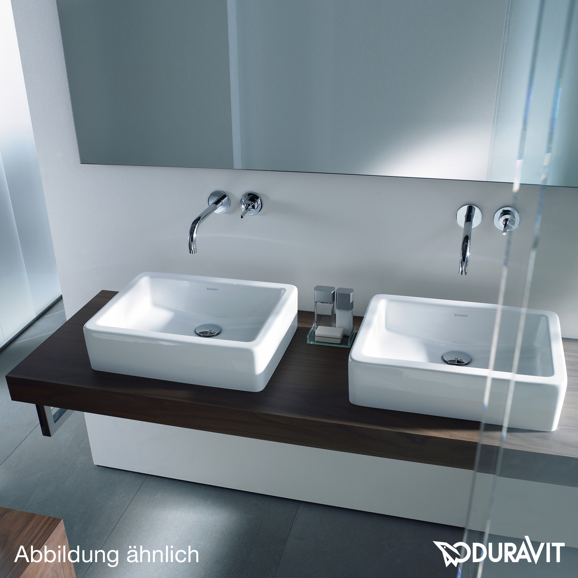 duravit vero konsole f r 2 aufsatzbecken und. Black Bedroom Furniture Sets. Home Design Ideas