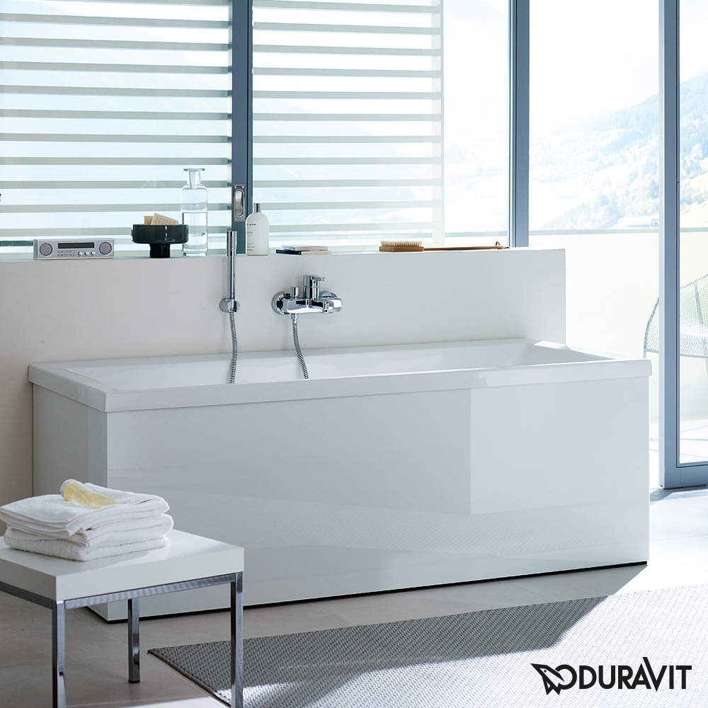 duravit vero rechteck badewanne einbauversion oder wannenverkleidung 700133000000000 reuter. Black Bedroom Furniture Sets. Home Design Ideas