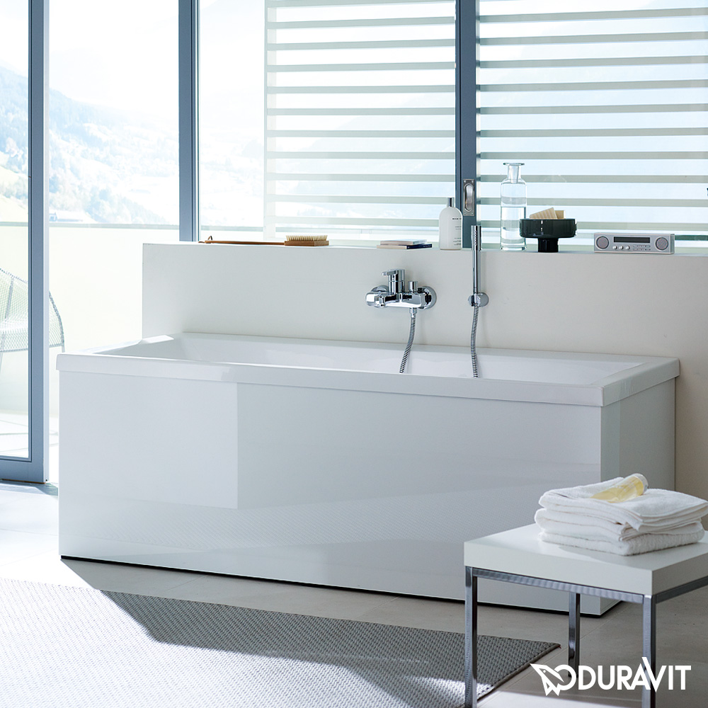 duravit vero rechteck badewanne einbauversion oder wannenverkleidung 700134000000000 reuter. Black Bedroom Furniture Sets. Home Design Ideas