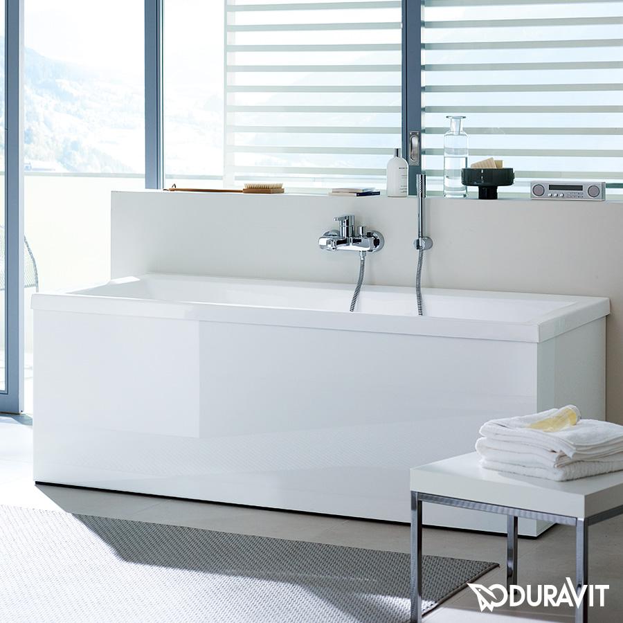 Duravit vero rechteck badewanne einbauversion oder for Sechseck badewanne 190x90