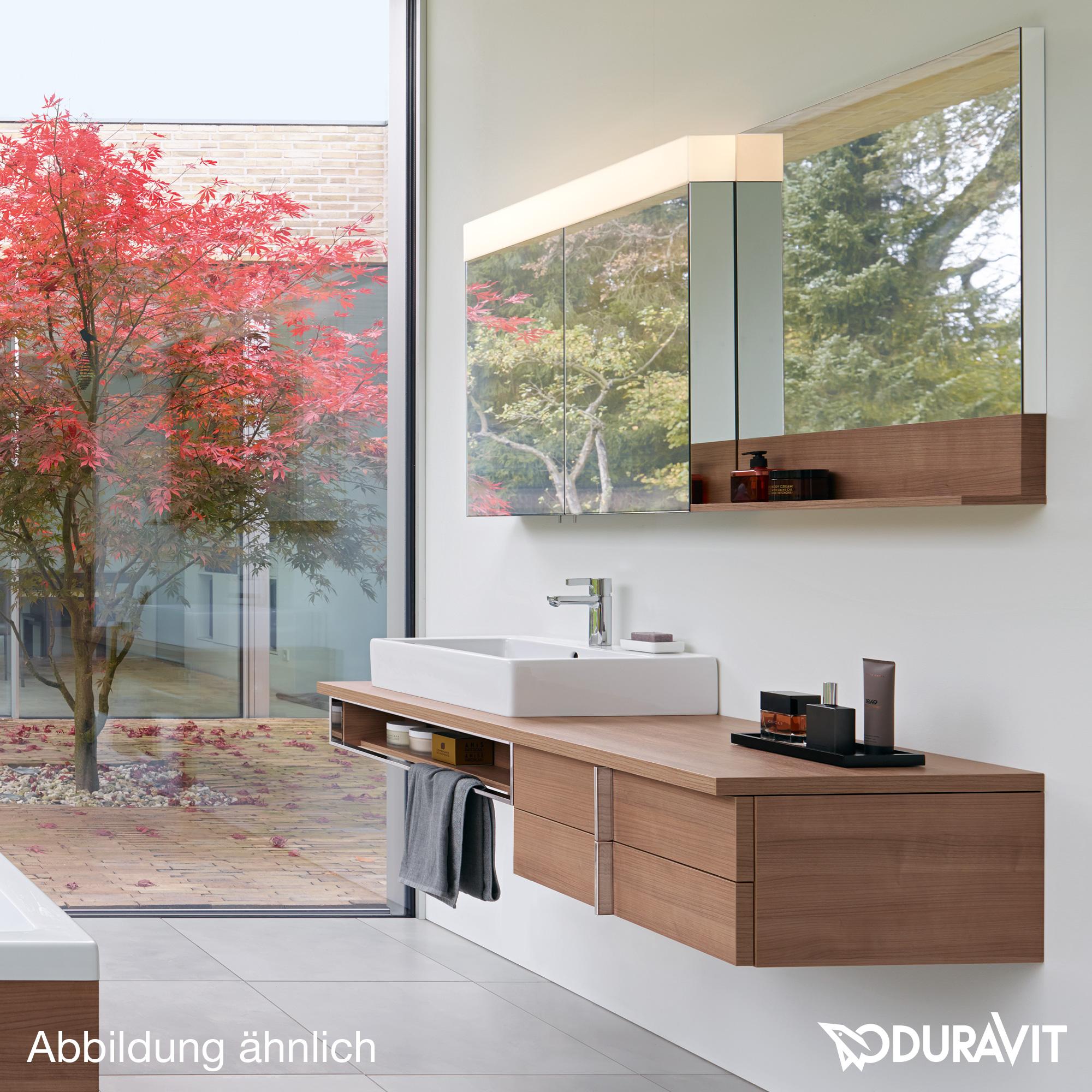 duravit vero waschtischunterbau f r konsole nussbaum geb rstet ve657206969 reuter onlineshop. Black Bedroom Furniture Sets. Home Design Ideas