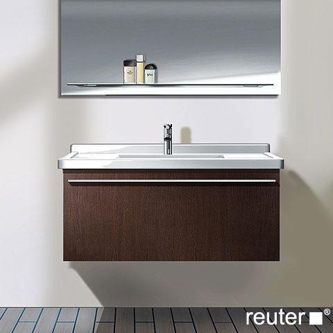 duravit x large unterbau mit 1 auszug weiss hochglanz lack. Black Bedroom Furniture Sets. Home Design Ideas