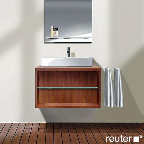 duravit x large waschtischunterbau mit offenem fach cappuccino hochglanz lack xl671808686. Black Bedroom Furniture Sets. Home Design Ideas