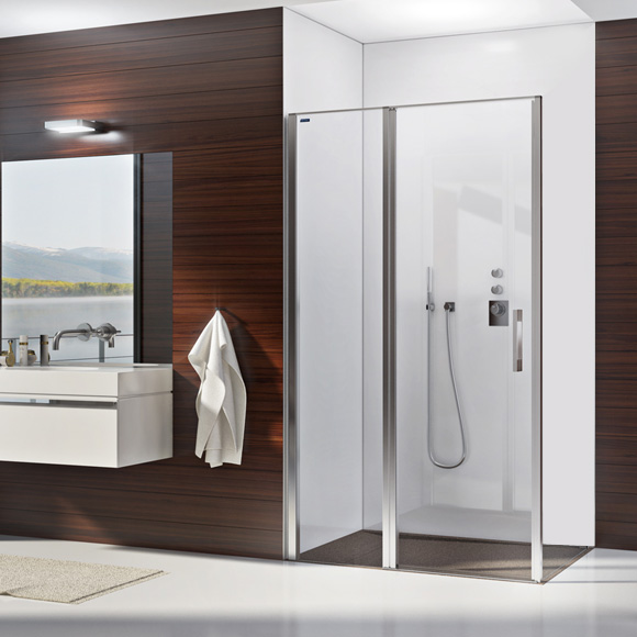 duscholux bella vita nova pendelt r mit festteil f r montage auf gefliestem boden esg klar. Black Bedroom Furniture Sets. Home Design Ideas