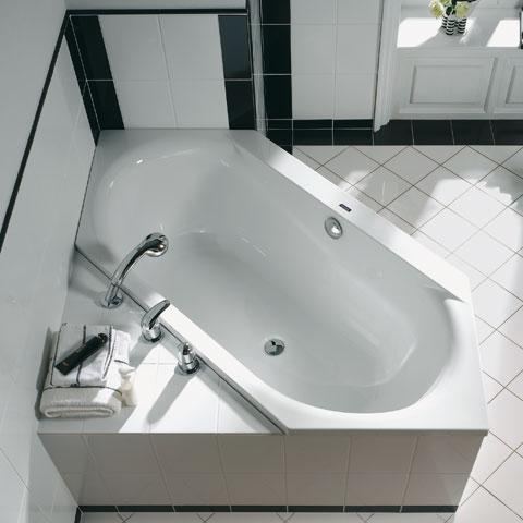 duscholux smart line sechseck badewanne wei. Black Bedroom Furniture Sets. Home Design Ideas