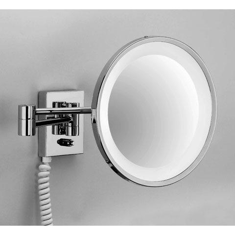 decor walther bs 40 pl wand kosmetikspiegel beleuchtet 0102100 reuter onlineshop. Black Bedroom Furniture Sets. Home Design Ideas