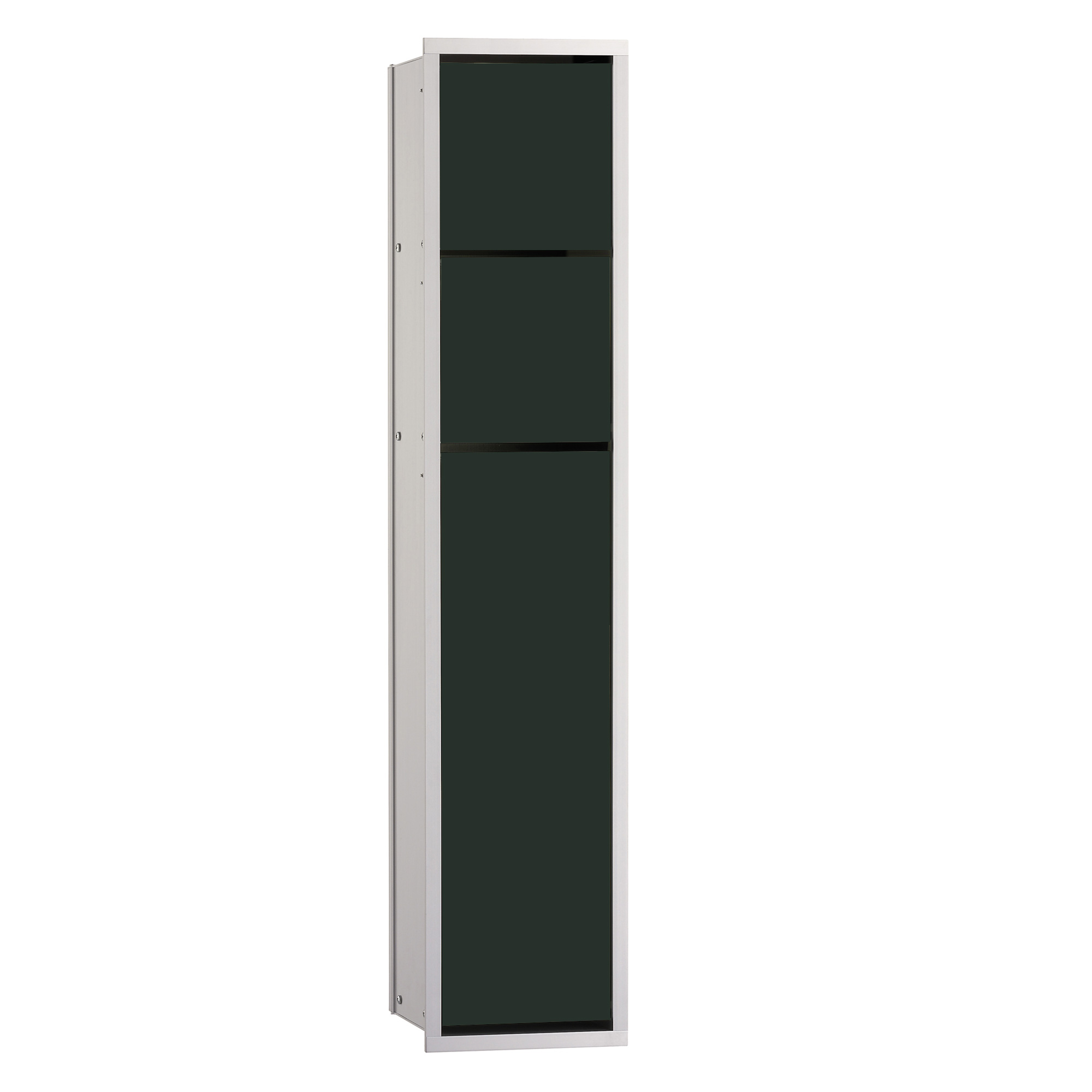 emco asis unterputz wc modul schwarz aluminium 975027550 reuter onlineshop. Black Bedroom Furniture Sets. Home Design Ideas