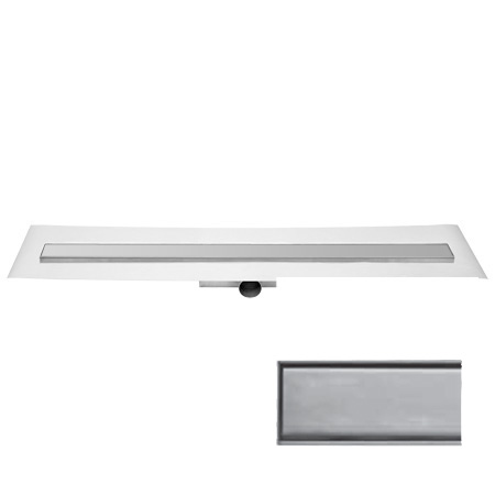 ess easy drain compact 30 ff zero inklusive rost l 60 cm. Black Bedroom Furniture Sets. Home Design Ideas