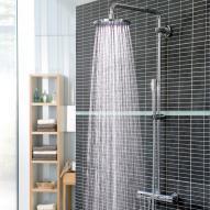 Grohe Rainshower 310 Duschsystem mit Thermostatbatterie für Wandmontage